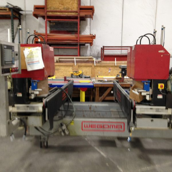 Wsa 2500 4 Point Horizontal Welder Equipment Vinyl